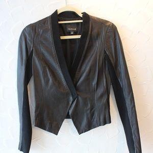 Trouve Black Leather Jacket